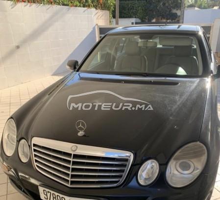 Voiture Mercedes benz Classe e 2009 à rabat  Diesel  - 9 chevaux