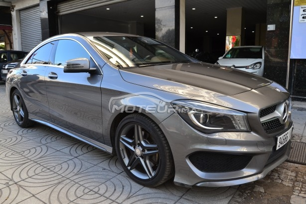 mercedes cla 220 cdi pack amg 2013 diesel 245138 occasion casablanca maroc. Black Bedroom Furniture Sets. Home Design Ideas