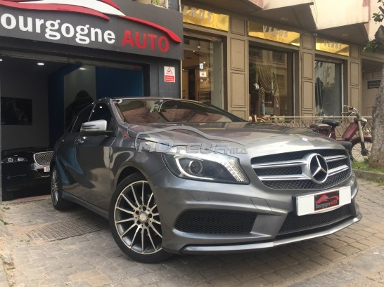 mercedes classe a 180 cdi pack amg 2014 diesel 214051 occasion casablanca maroc. Black Bedroom Furniture Sets. Home Design Ideas