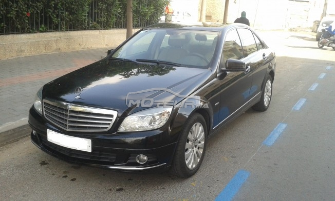 mercedes classe c 220 cdi 2010 diesel 188338 occasion casablanca maroc. Black Bedroom Furniture Sets. Home Design Ideas
