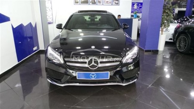 MERCEDES Classe c 220d pack amg line occasion 591875