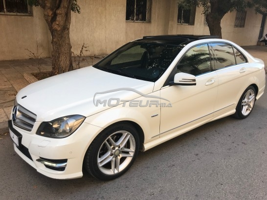 mercedes classe c 220d pack amg 2011 diesel 185167 occasion kenitra maroc. Black Bedroom Furniture Sets. Home Design Ideas
