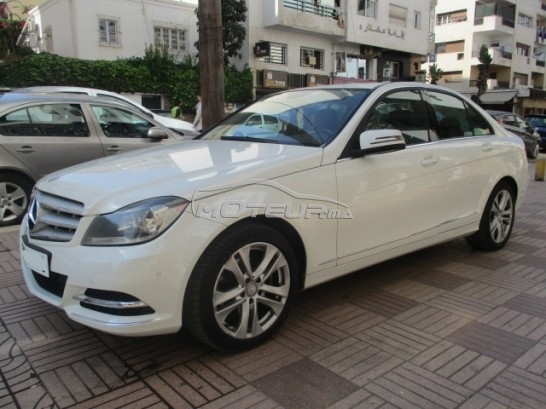 mercedes classe c 220 avant garde 2012 diesel 183181 occasion casablanca maroc. Black Bedroom Furniture Sets. Home Design Ideas