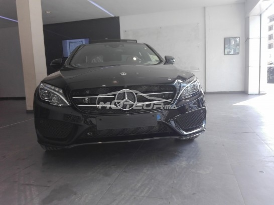mercedes classe c 220d pack amg 2018 diesel 198403 occasion casablanca maroc. Black Bedroom Furniture Sets. Home Design Ideas