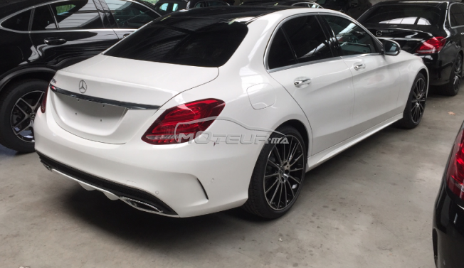 mercedes classe c 220 cdi pack amg 2017 diesel 162785 occasion casablanca maroc. Black Bedroom Furniture Sets. Home Design Ideas