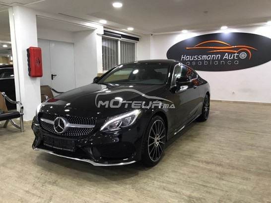 mercedes classe c coupe pack amg 2017 diesel 150749 occasion casablanca maroc. Black Bedroom Furniture Sets. Home Design Ideas
