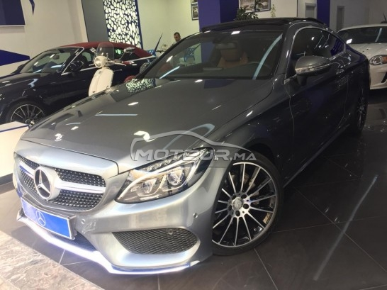 MERCEDES Classe c coupe 220d pack amg line مستعملة