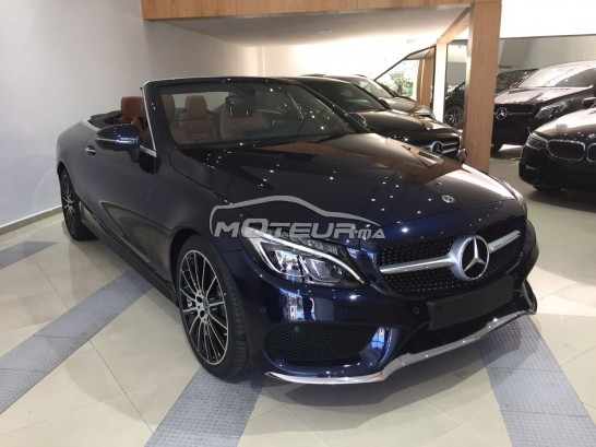mercedes classe c coupe c220 cabriolet 2017 diesel 166364 occasion rabat maroc. Black Bedroom Furniture Sets. Home Design Ideas