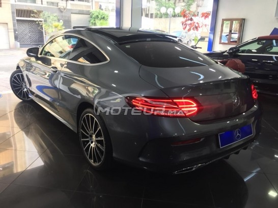MERCEDES Classe c coupe 220d pack amg line occasion 612587
