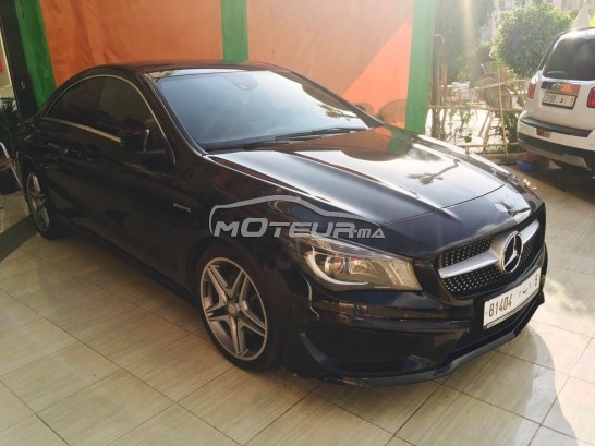mercedes cla 220 2015 diesel 148848 occasion mohammedia. Black Bedroom Furniture Sets. Home Design Ideas