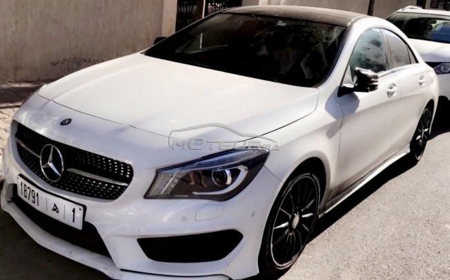 mercedes cla 220 pack amg black edition toute option 2015 diesel 183744 occasion rabat maroc. Black Bedroom Furniture Sets. Home Design Ideas
