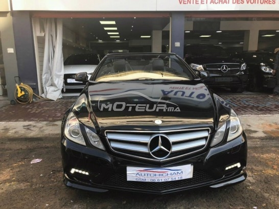mercedes classe e 350 cabriolet 2010 diesel 198852 occasion casablanca maroc. Black Bedroom Furniture Sets. Home Design Ideas