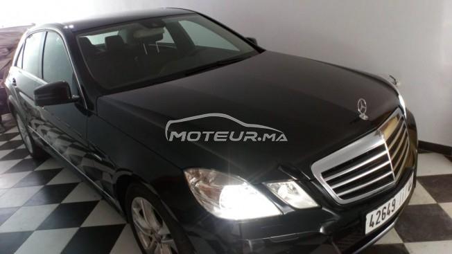 Voiture Mercedes benz Classe e 2010 à tetouan  Essence