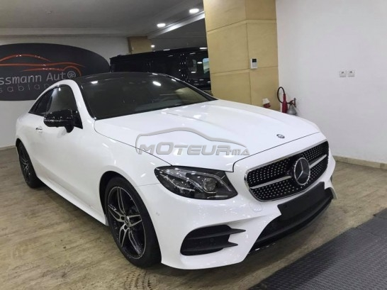 mercedes classe e coupe 220d pack amg 2017 diesel 189098 occasion casablanca maroc. Black Bedroom Furniture Sets. Home Design Ideas
