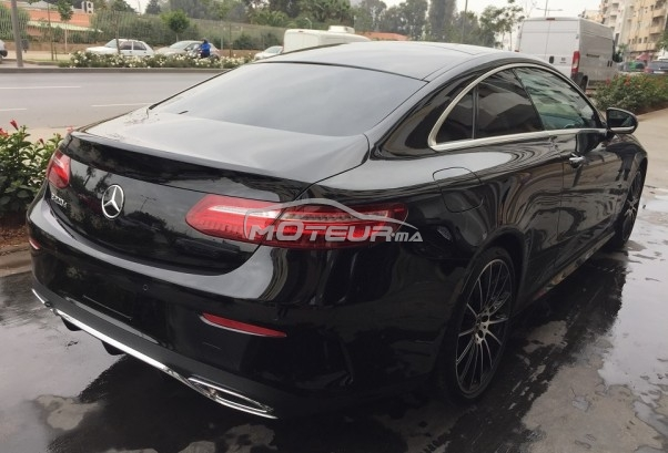 mercedes classe e coupe 220d pack amg 2018 diesel 198379 occasion casablanca maroc. Black Bedroom Furniture Sets. Home Design Ideas