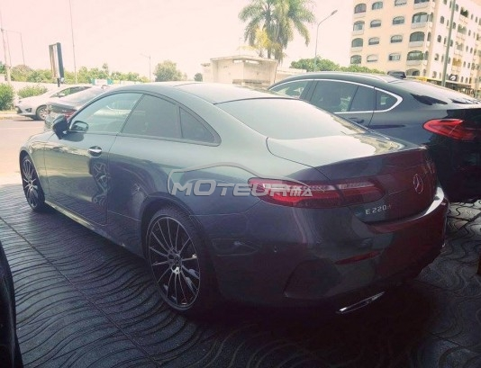 mercedes classe e coupe 220 pack amg 2018 diesel 160464 occasion casablanca maroc. Black Bedroom Furniture Sets. Home Design Ideas