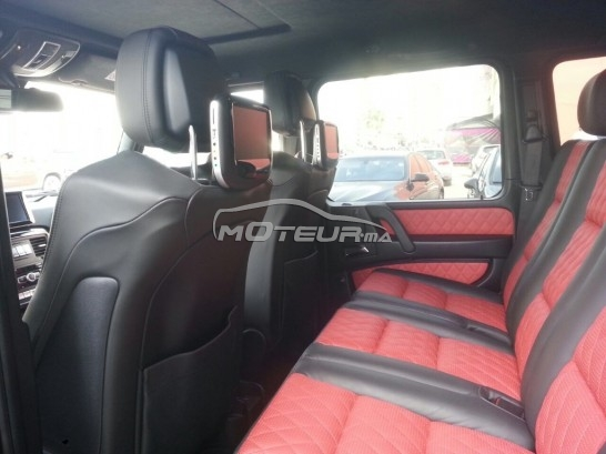 mercedes classe g 350 amg 2016 diesel 157292 occasion casablanca maroc. Black Bedroom Furniture Sets. Home Design Ideas