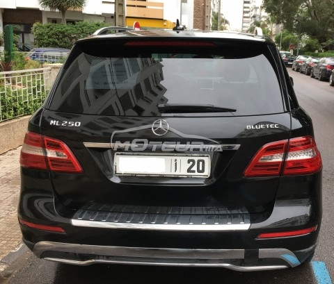 mercedes classe ml 250 bluetec 2012 diesel 192080 occasion casablanca maroc. Black Bedroom Furniture Sets. Home Design Ideas