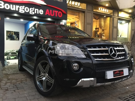 mercedes classe ml 63 amg 2009 essence 191013 occasion casablanca maroc. Black Bedroom Furniture Sets. Home Design Ideas