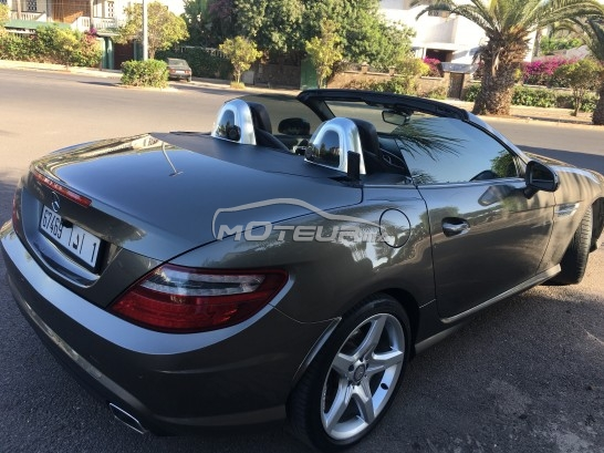 mercedes slk 2012 diesel 172595 occasion casablanca maroc. Black Bedroom Furniture Sets. Home Design Ideas