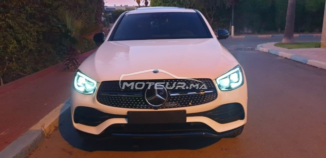 MERCEDES Glc coupe 300d pack amg مستعملة