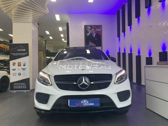 MERCEDES Gle coupe V6 مستعملة