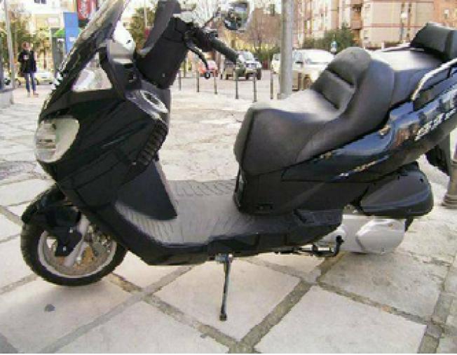 Moto au Maroc DAELIM S2 250 250cc - 124823