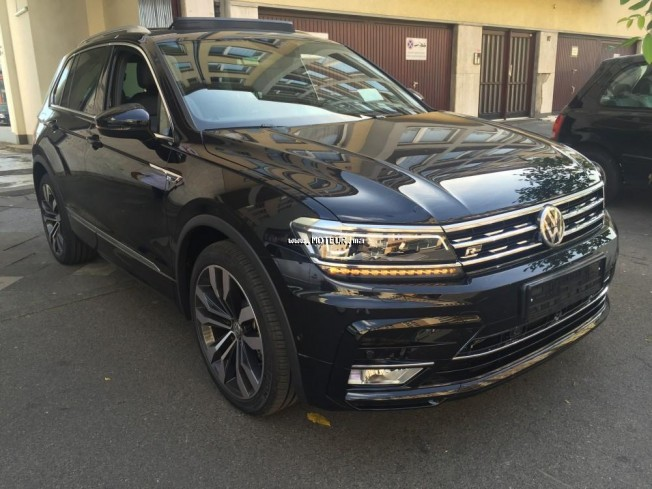 volkswagen tiguan r line 2016 diesel 105929 occasion nador maroc. Black Bedroom Furniture Sets. Home Design Ideas