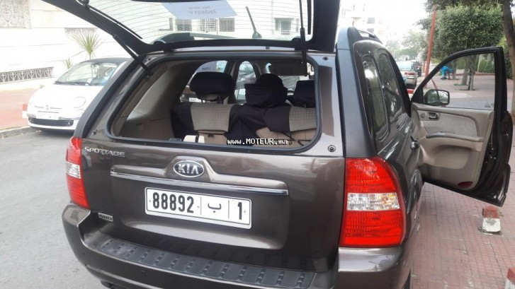 kia sportage 2008 diesel 94432 occasion rabat maroc. Black Bedroom Furniture Sets. Home Design Ideas