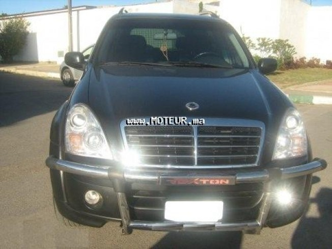 ssangyong rexton xdi 2 7 2008 diesel 34898 occasion casablanca maroc. Black Bedroom Furniture Sets. Home Design Ideas