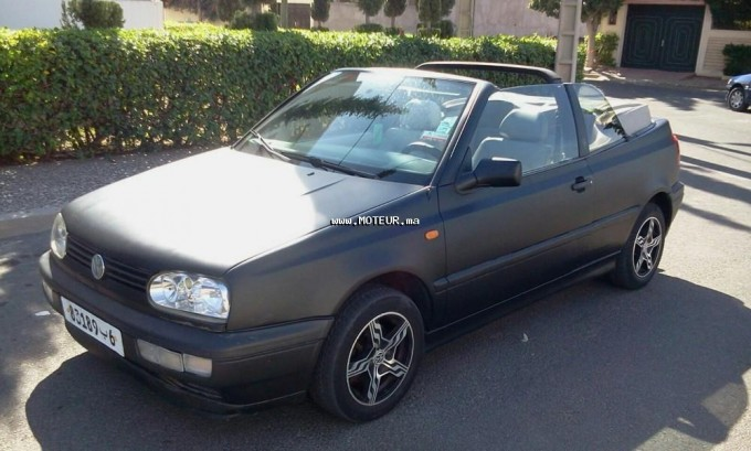 volkswagen golf 3 cabriolet 1997 essence 81304 occasion. Black Bedroom Furniture Sets. Home Design Ideas