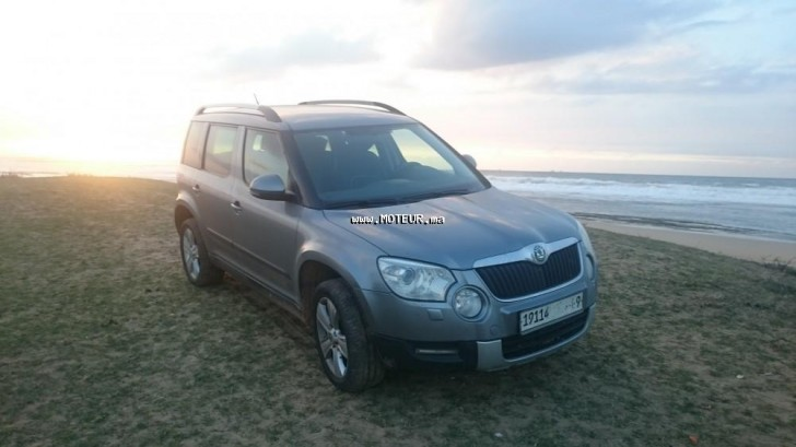 skoda yeti 2013 diesel 81864 occasion casablanca maroc. Black Bedroom Furniture Sets. Home Design Ideas