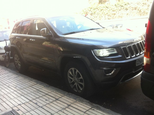 jeep grand cherokee limited 2015 diesel 113991 occasion casablanca maroc. Black Bedroom Furniture Sets. Home Design Ideas