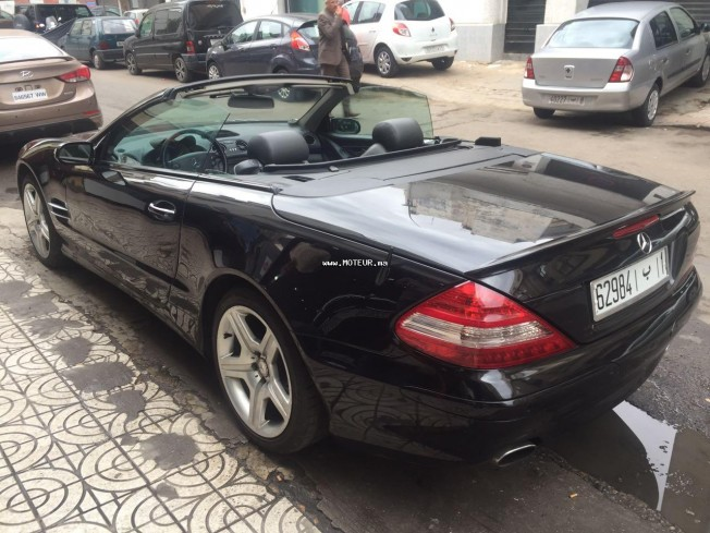 mercedes sl 350 2005 essence 120208 occasion casablanca maroc. Black Bedroom Furniture Sets. Home Design Ideas