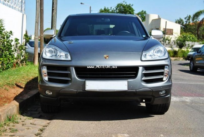 porsche cayenne s v8 385cv 2008 essence 49580 occasion casablanca maroc. Black Bedroom Furniture Sets. Home Design Ideas