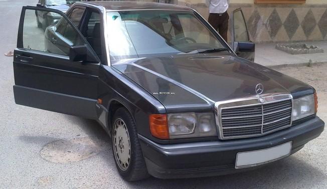 mercedes 190 190d normal 1991 diesel 22374 occasion safi maroc. Black Bedroom Furniture Sets. Home Design Ideas
