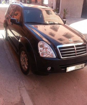 ssangyong rexton 2009 diesel 96337 occasion marrakech maroc. Black Bedroom Furniture Sets. Home Design Ideas