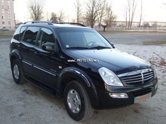 ssangyong rexton 2008 diesel 14047 occasion casablanca maroc. Black Bedroom Furniture Sets. Home Design Ideas