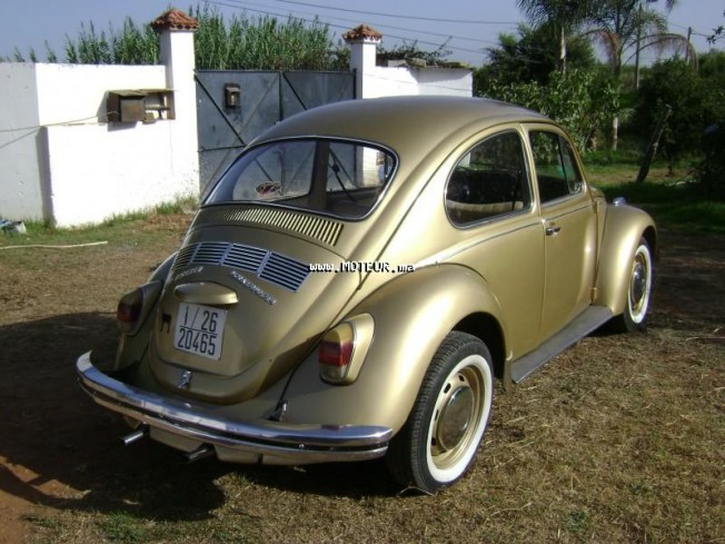 volkswagen coccinelle 1300 1970 essence 35256 occasion rabat maroc. Black Bedroom Furniture Sets. Home Design Ideas