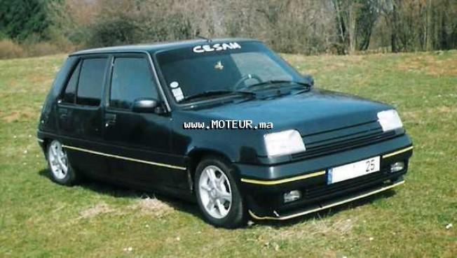 renault super 5 1994 essence 13467 occasion rabat maroc. Black Bedroom Furniture Sets. Home Design Ideas