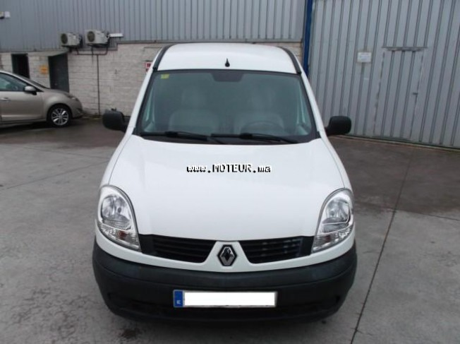 renault kangoo 1 5 dci furgon 2007 diesel 46817 occasion autre maroc. Black Bedroom Furniture Sets. Home Design Ideas