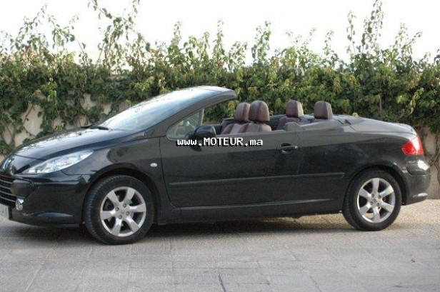 peugeot 307 cc 2 0 l 2008 essence 35270 occasion el jadida maroc. Black Bedroom Furniture Sets. Home Design Ideas