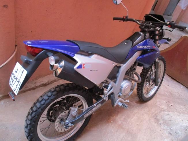 Moto au Maroc DERBI Senda 125 4t 125 r - 134053