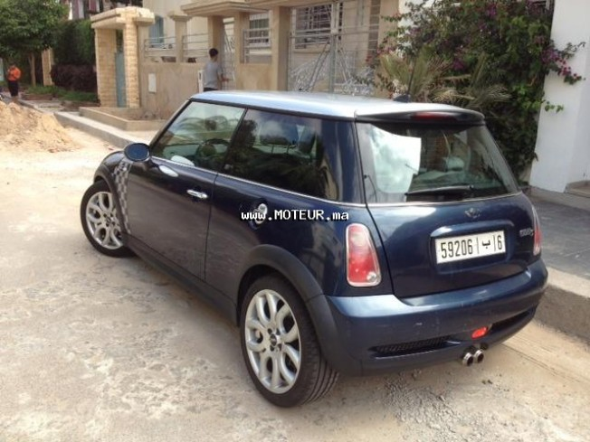 mini cooper 1 6 2006 essence 46642 vendre casablanca. Black Bedroom Furniture Sets. Home Design Ideas