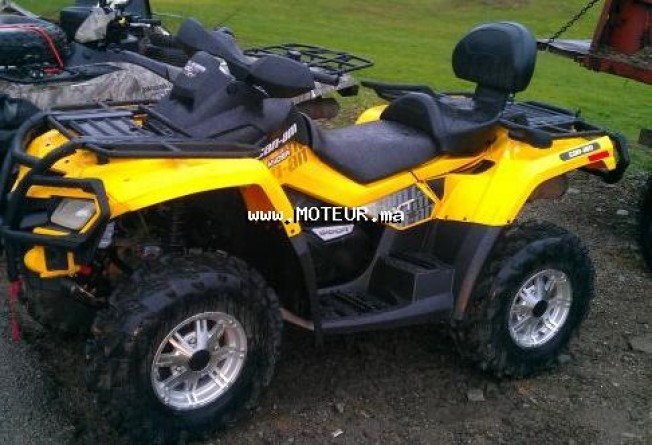 Moto au Maroc CAN-AM Outlander max 800r e 800 xt - 126475