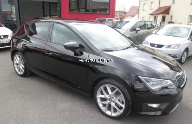 seat leon 2 0 tdi 184 dsg fr 2016 diesel 100539 occasion rabat maroc. Black Bedroom Furniture Sets. Home Design Ideas