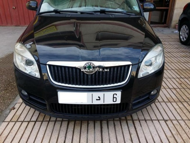 skoda fabia 2009 essence 58724 occasion rabat maroc. Black Bedroom Furniture Sets. Home Design Ideas