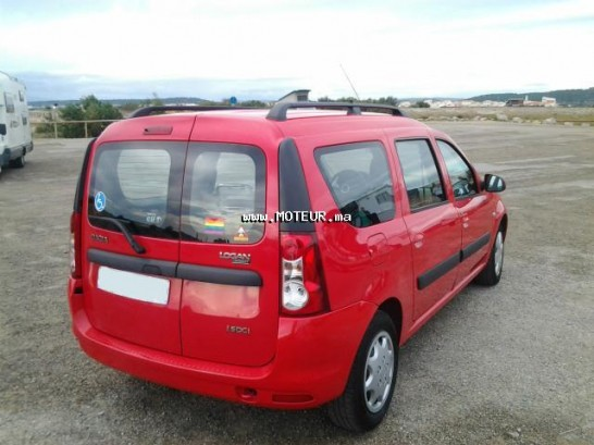 dacia logan mcv 1 5 dci 2010 diesel 38282 occasion casablanca maroc. Black Bedroom Furniture Sets. Home Design Ideas