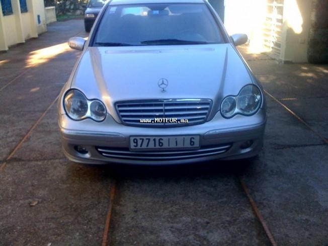 Mercedes C 220 Cdi Occasion : mercedes classe c 220 cdi 2002 diesel 18785 occasion rabat maroc ~ Medecine-chirurgie-esthetiques.com Avis de Voitures