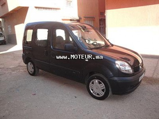 renault kangoo d65 1 9 2009 diesel 35664 occasion sale maroc. Black Bedroom Furniture Sets. Home Design Ideas